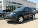 2016 Land Rover Discovery Sport SE LEATHER, BACKUP CAM, HTD SEATS, POWER LIFTGATE, CLIMATE CONTROL, UNDER FACTORY WARRANTY