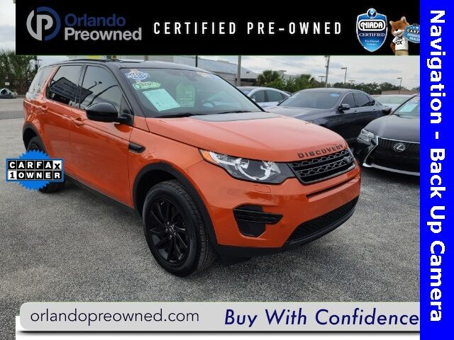 Used Land Rover Discovery Sport Orlando Fl