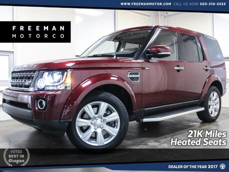 2016_Land Rover_LR4_HSE 4x4 3rd Row Backup Cam 21k Miles_ Portland OR