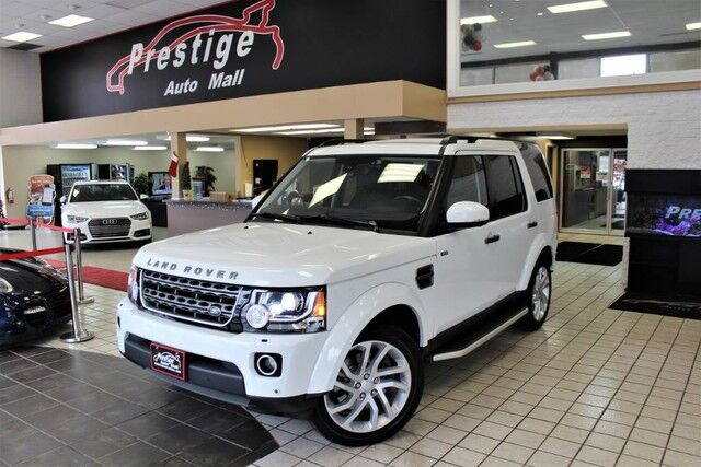2016 Land Rover LR4 HSE Cuyahoga Falls OH