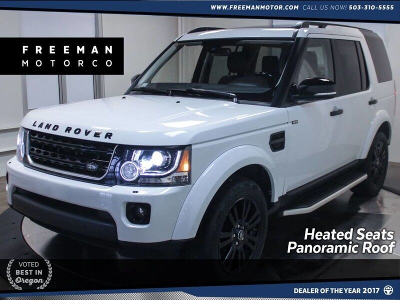 2016 Land Rover LR4 HSE Heated Seats Pano Back-Up Camera 7 Seats Portland OR