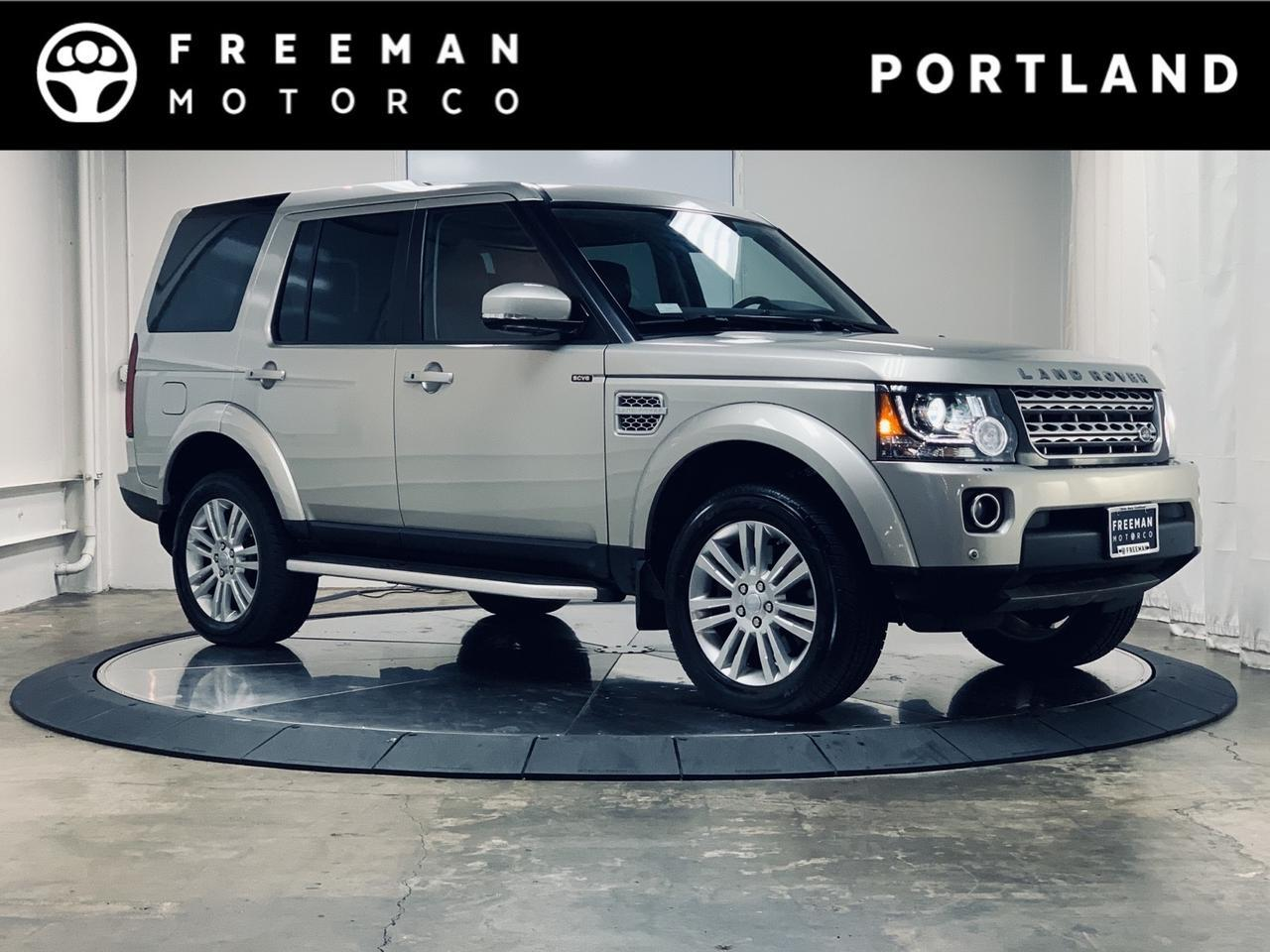 2016 Land Rover LR4 HSE LUX Adaptive Cruise Surround Cam Rear DVD Portland OR