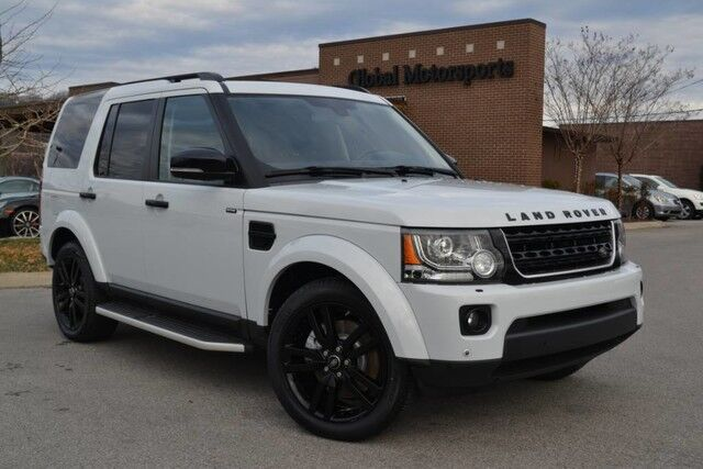 2016 Land Rover LR4 HSE LUX Landmark/4X4/Blind Spot/Black Design/Meridian Sound/Tri Sunroofs/3rd Row Seating/Htd Seats-Steering Wheel Nashville TN