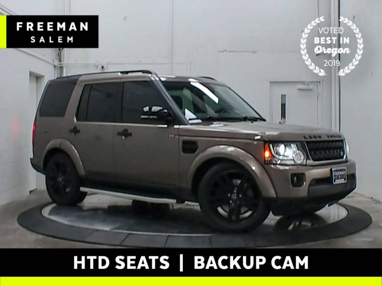 2016 Land Rover LR4 HSE Luxury 7-Passenger Backup Cam