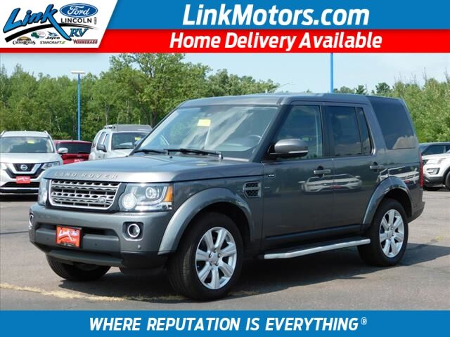 2016 Land Rover LR4 HSE Rice Lake WI