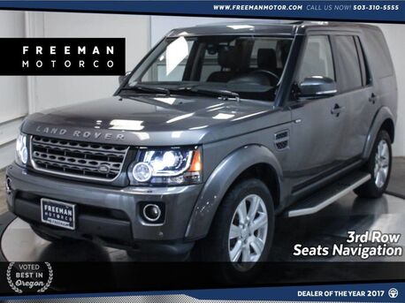 2016_Land Rover_LR4_HSE Silver Edition 3rd Row Back-Up Cam Nav_ Portland OR