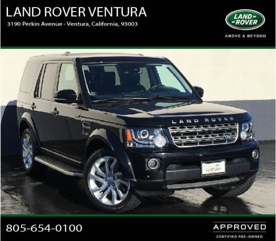 2015 Land Rover Range Rover Sport Supercharged Ventura Ca: 2016 Land Rover LR4 HSE Silver Edition Ventura CA 22836057