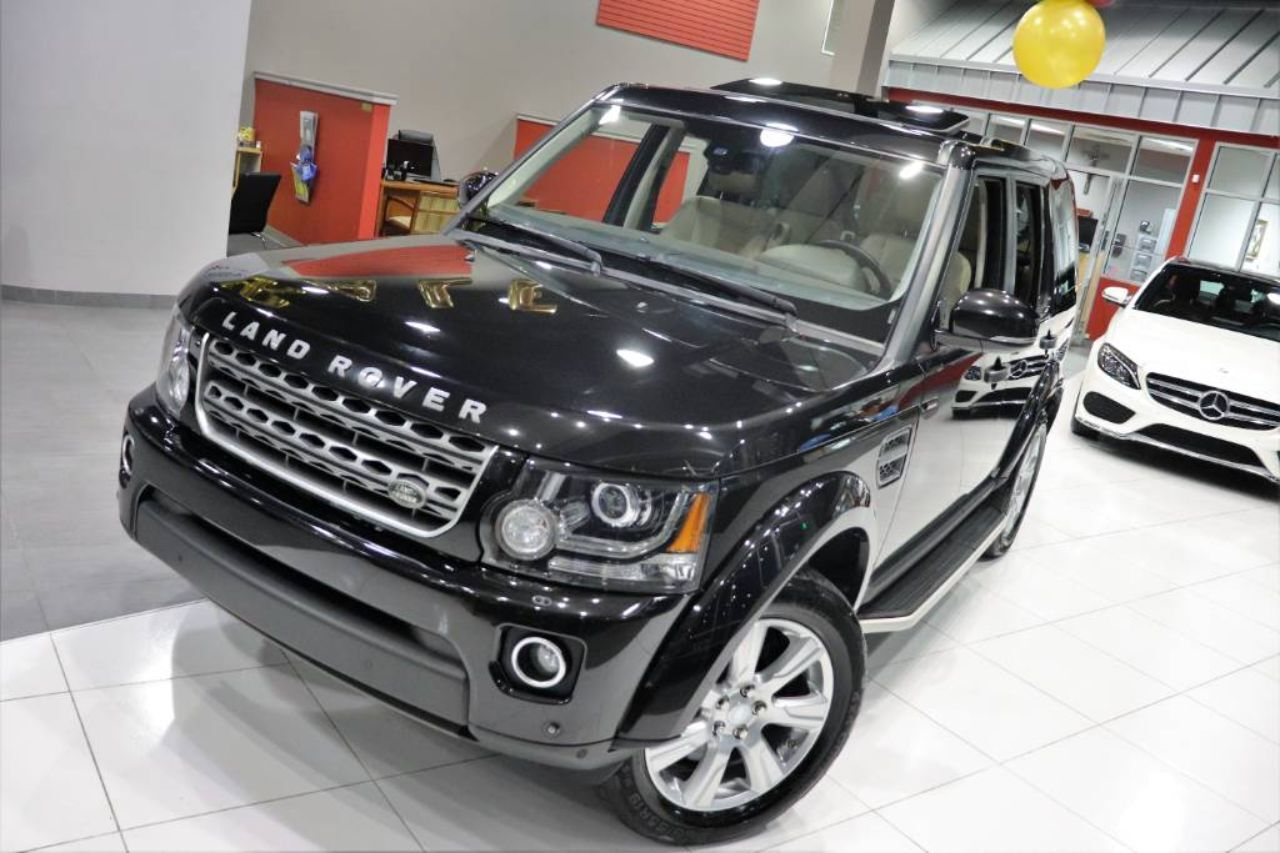 2016 Land Rover LR4 HSE Vision Assist Climate Comfort Package Sunroof Running Boards 1 Owner Springfield NJ