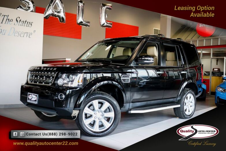 2016 Land Rover LR4 HSE Vision Assist and Climate Comfort Pkg Dual Roof Springfield NJ