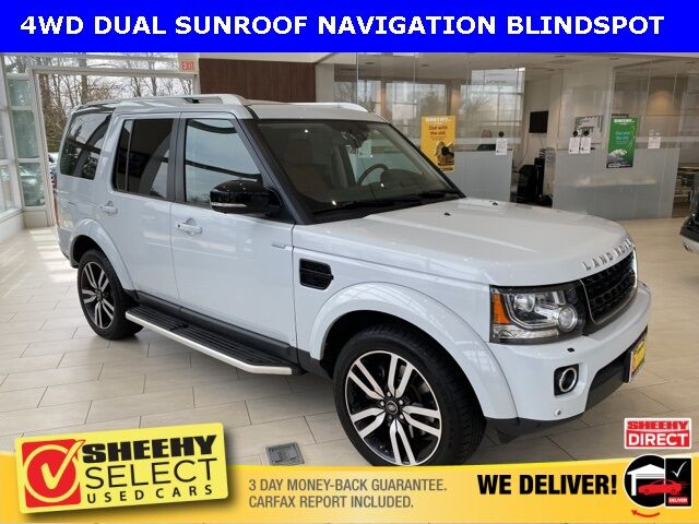 2016 Land Rover LR4 LANDMARK BLINDSPOT/DUAL ROOF Chantilly VA