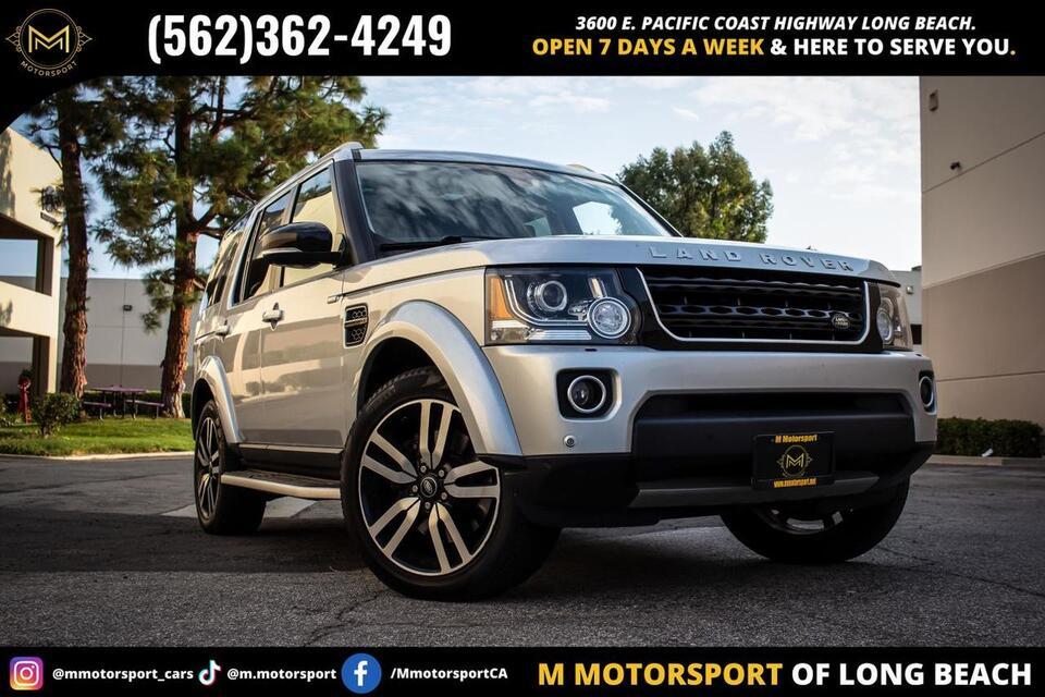 2016_Land Rover_LR4_Landmark Edition Sport Utility 4D_ Long Beach CA