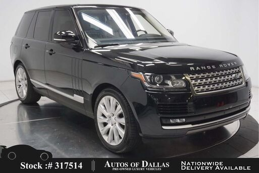 2016_Land Rover_Range Rover_3.0L V6 SC HSE NAV,CAM,PANO,CLMT STS,21IN WHLS_ Plano TX