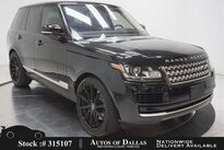 Land Rover Range Rover 3.0L V6 SC HSE NAV,CAM,PANO,CLMT STS,22IN WHLS 2016