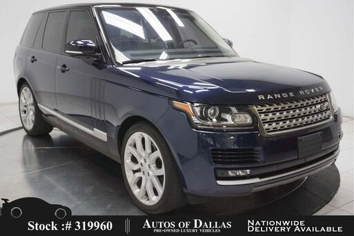 2016_Land Rover_Range Rover_3.0L V6 SC HSE NAV,CAM,PANO,CLMT STS,22IN WHLS_ Plano TX