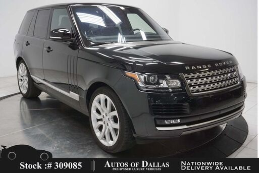 2016_Land Rover_Range Rover_3.0L V6 SC HSE NAV,CAM,PANO,CLMT STS,22IN WLS_ Plano TX