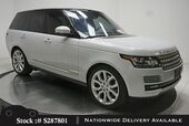 2016 Land Rover Range Rover 3.0L V6 Supercharged HSE NAV,CAM,PANO,4-CLMT STS