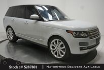 Land Rover Range Rover 3.0L V6 Supercharged HSE NAV,CAM,PANO,4-CLMT STS 2016