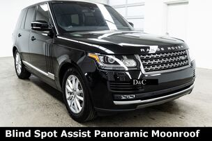 2016 Land Rover Range Rover 3.0L V6 Turbocharged Diesel Td6 Blind Spot Assist