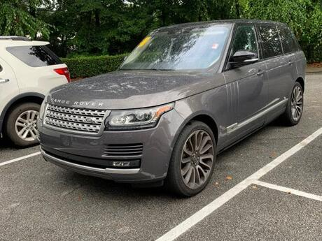 2016 Land Rover Range Rover 4WD 4dr Supercharged LWB Cary NC