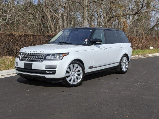 2016 Range Rover 4WD 4dr Supercharged LWB