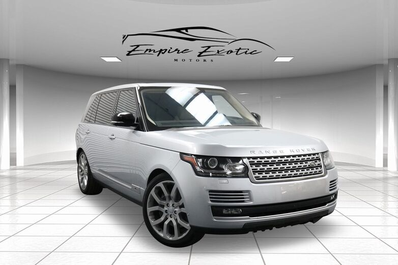 2016 Land Rover Range Rover 5.0L V8 Supercharged Addison TX