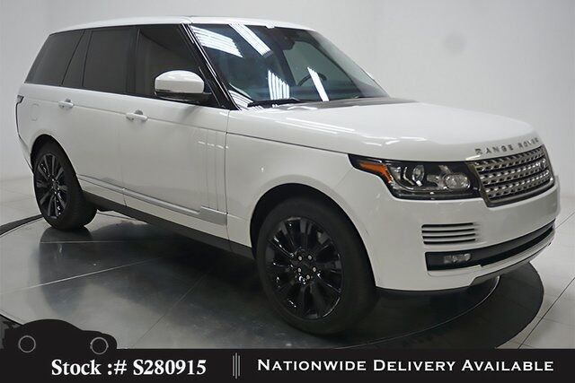 2016 Land Rover Range Rover 5.0L V8 Supercharged NAV,CAM,PANO,CLMT STS,21IN WL Plano TX