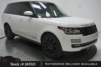 Land Rover Range Rover 5.0L V8 Supercharged NAV,CAM,PANO,CLMT STS,21IN WL 2016