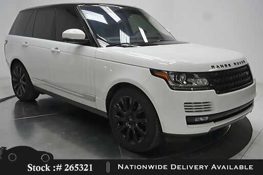 2016_Land Rover_Range Rover_5.0L V8 Supercharged NAV,CAM,PANO,CLMT STS,21IN WL_ Plano TX