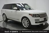 2016 Land Rover Range Rover 5.0L V8 Supercharged NAV,CAM,PANO,CLMT STS,22IN WL