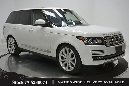 2016_Land Rover_Range Rover_5.0L V8 Supercharged NAV,CAM,PANO,CLMT STS,22IN WL_ Plano TX