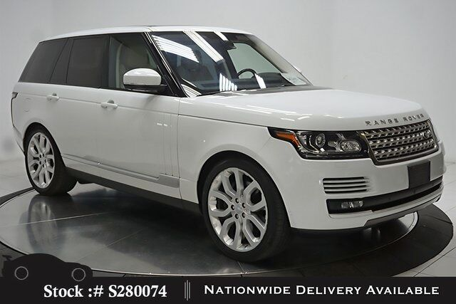 2016 Land Rover Range Rover 5.0L V8 Supercharged NAV,CAM,PANO,CLMT STS,22IN WL Plano TX