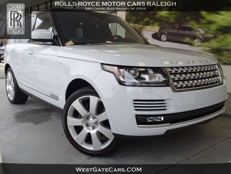 2016 Land Rover Range Rover 5.0L V8 Supercharged Raleigh NC