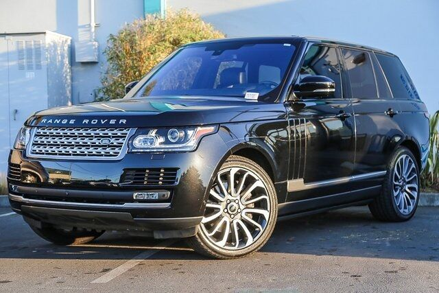 2016 Land Rover Range Rover 5.0L V8 Supercharged Redwood City CA