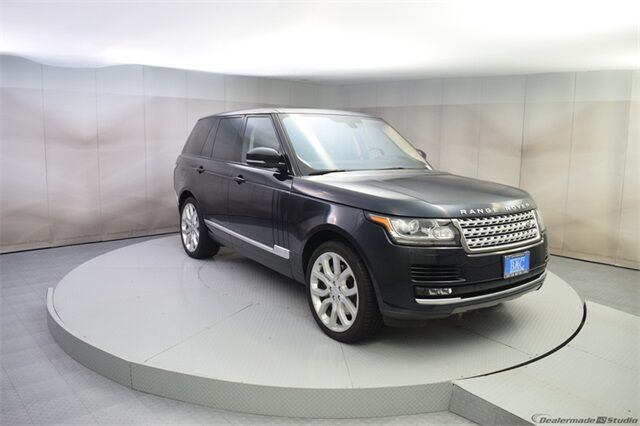 2016 Land Rover Range Rover 5.0L V8 Supercharged San Francisco CA