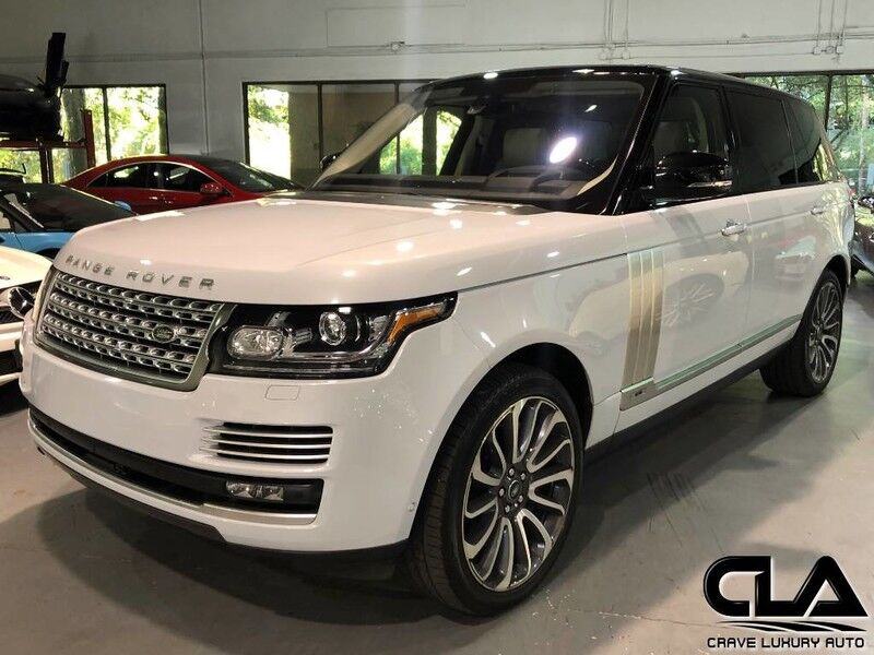 2016 Land Rover Range Rover Autobiography LWB The Woodlands TX