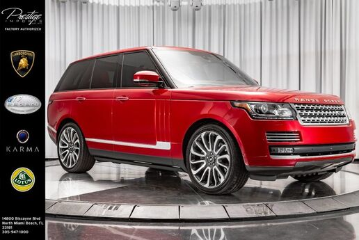2016 Land Rover Range Rover Autobiography North Miami Beach FL