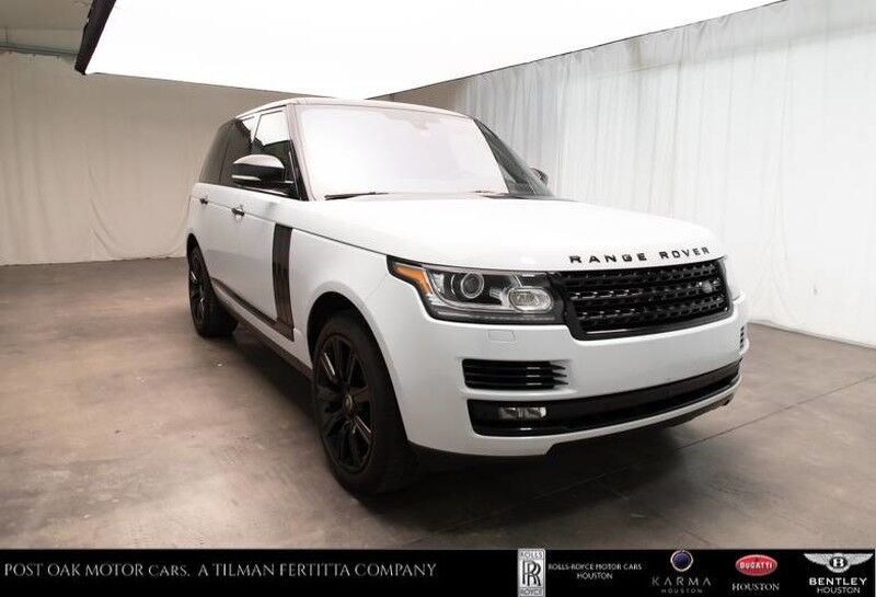 2016 Land Rover Range Rover Diesel HSE Houston TX