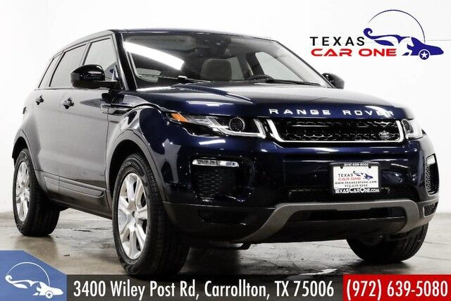 2016 Land Rover Range Rover Evoque 4WD SE NAVIGATION PANORAMA LEATHER HEATED SEATS REAR CAMERA KEYL Carrollton TX