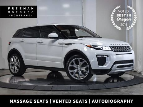 2016 Land Rover Range Rover Evoque Autobiography AWD Pano Blind Spot Ast Vented Seats Portland OR
