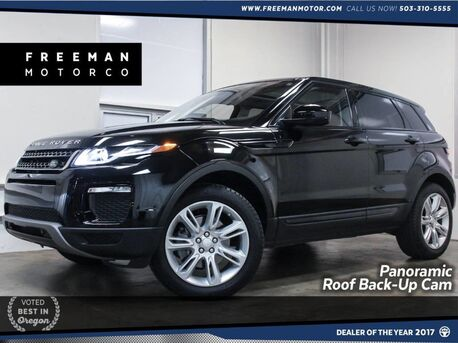 2016_Land Rover_Range Rover Evoque_SE Panoramic Roof Nav Back-Up cam_ Portland OR