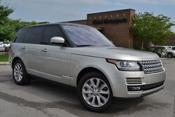 Land Rover Range Rover HSE/4X4/Blind Spot Monitor/Lane Departure Warning/Massaging Seats/Front&Rear Heated&Cooled Seats/Soft Close Doors/Meridian Sound/Power Rear Seats 2016