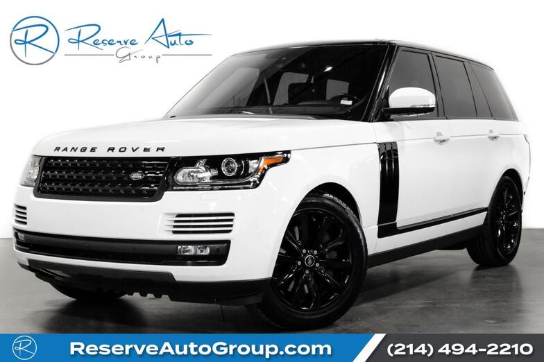 2016 Land Rover Range Rover HSE Adaptive Cruise VisionAssist Pkg Meridian Sound The Colony TX