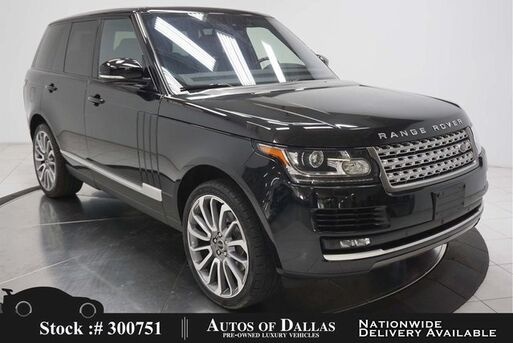 2016_Land Rover_Range Rover_HSE DIESEL NAV,CAM,PANO,CLMT STS,BLIND SPOT_ Plano TX