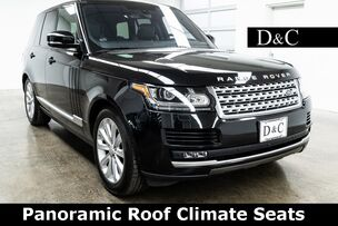 2016 Land Rover Range Rover HSE Panoramic Roof Climate Seats