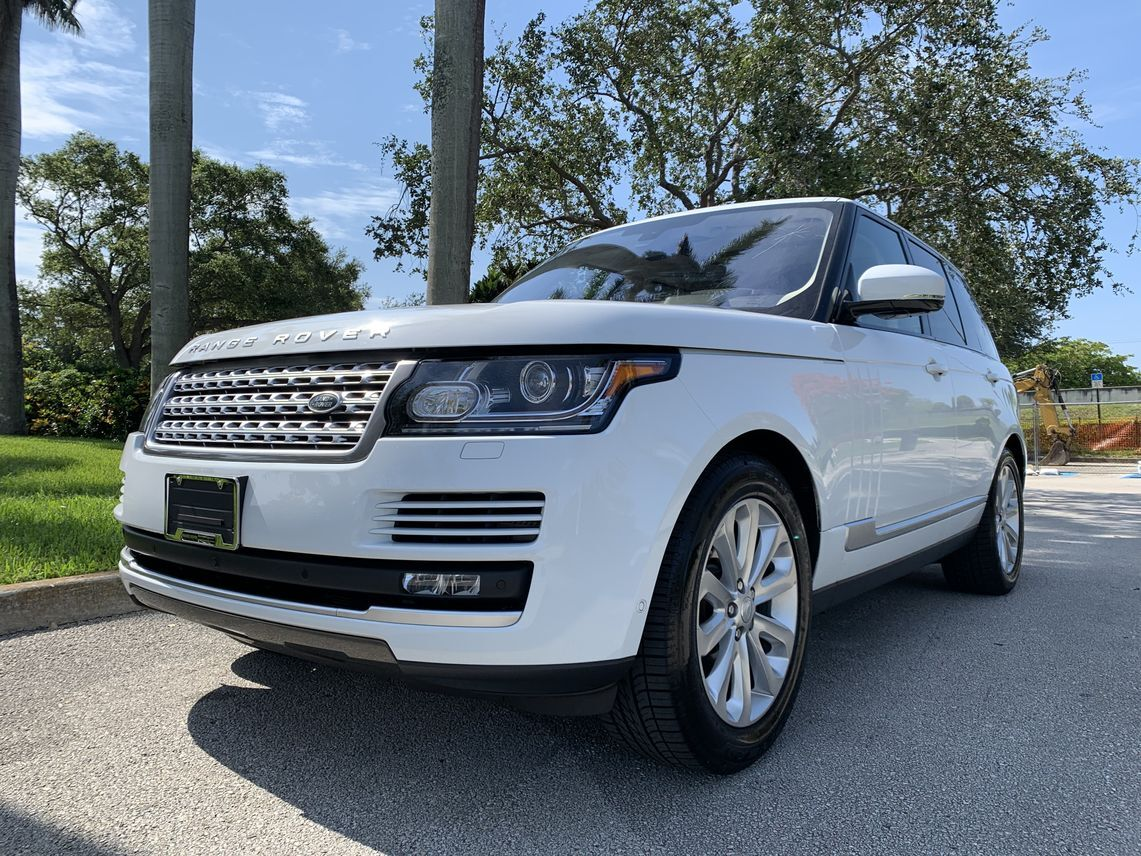 2016 Land Rover Range Rover HSE Sport Utility 4D Hollywood FL