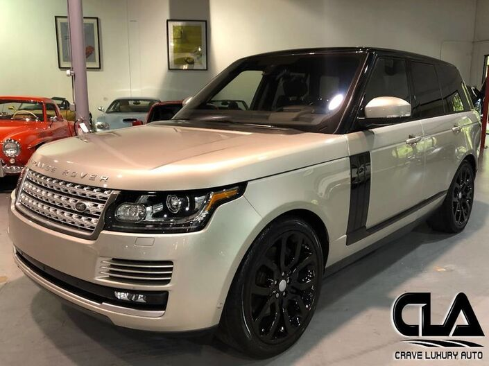 2016 Land Rover Range Rover HSE The Woodlands TX