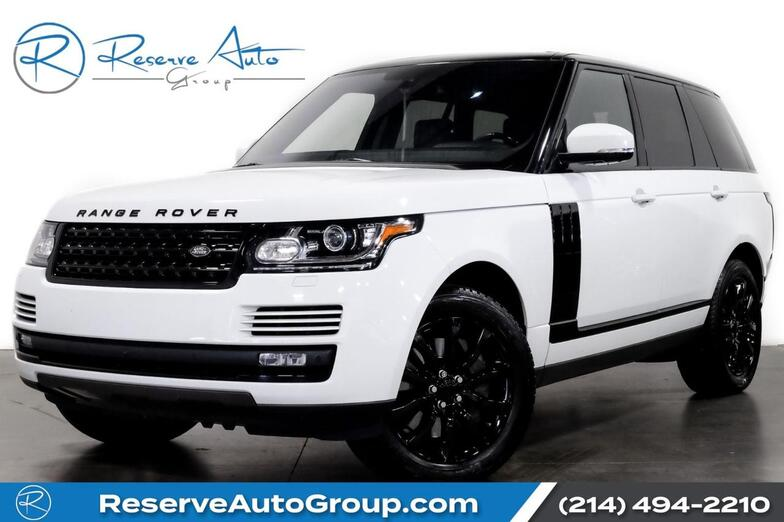 2016 Land Rover Range Rover HSE Tuxedo Pkg Vision Pkg PanoRoof The Colony TX