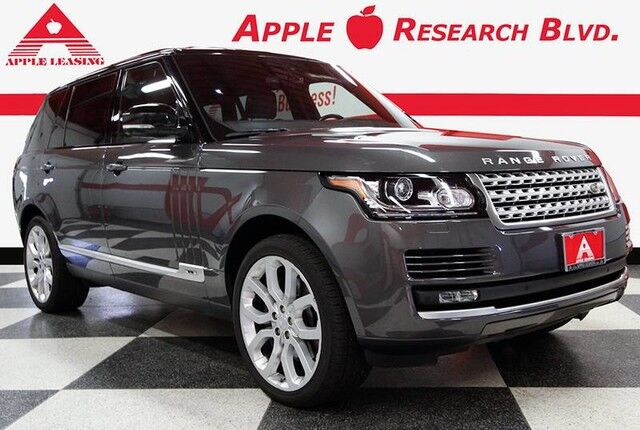 2016 Land Rover Range Rover LWB Supercharged Austin TX