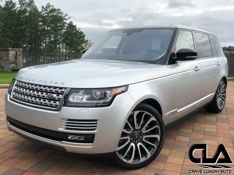2016 Land Rover Range Rover LWB Supercharged The Woodlands TX