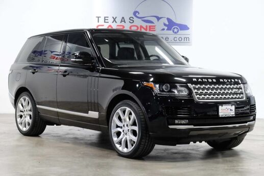 2016 Land Rover Range Rover SUPERCHARGED AWD NAVIGATION PANORAMA TV ENTERTANMENT SYSTEM LEAT Addison TX